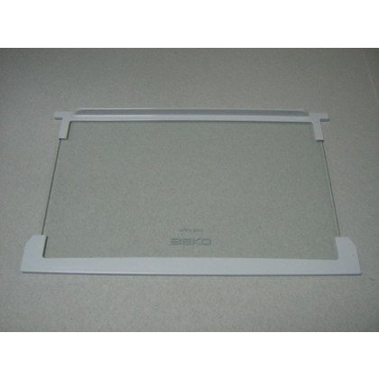 Półka szklana z ramkami 49.5x30.5 cm (4564210100)