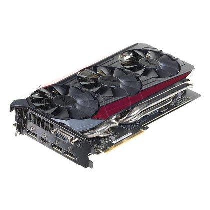ASUS AMD Radeon R9 390 8192MB DDR5/512bit DVI/HDMI/DP PCI-E (1070/6000) (wer. OC - Strix Gaming) (wentylator DirectCU III)