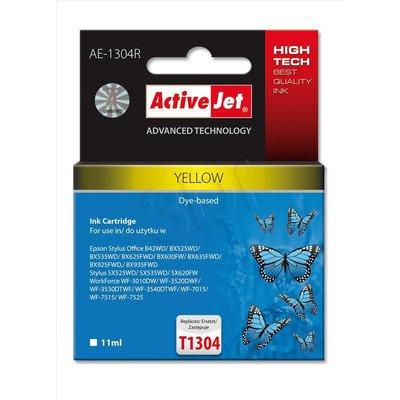 ActiveJet AE-1304R tusz żółty do drukarki Epson (zamiennik Epson T1304) Premium