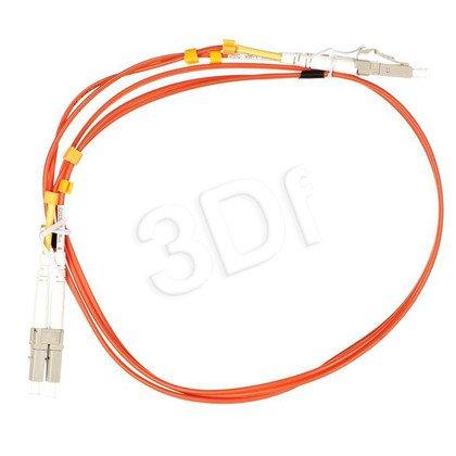 ALANTEC patchcord światłowodowy MM LSOH 1m LC-LC duplex 50/125 pomarańczowy