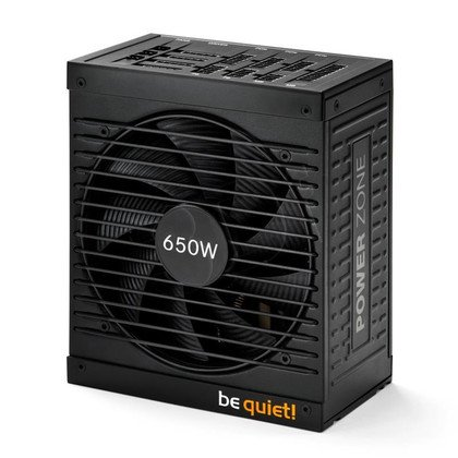 BE QUIET! POWER ZONE 650W (BN210) MODULA 80+ BRONZE