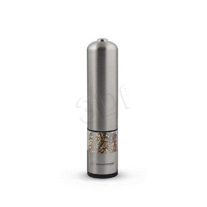 Młynek do pieprzu/soli Esperanza EKP002 srebrny