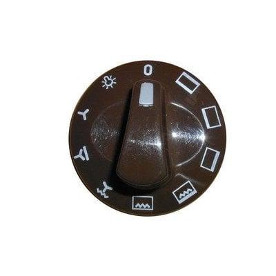 Pokrętło 8 funkcji piekarnika - brązowe (9046488)