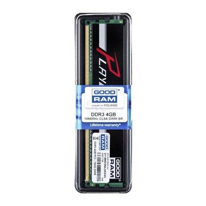 Goodram PLAY DDR3 DIMM 4GB 1866MT/s (1x4GB) Czarny