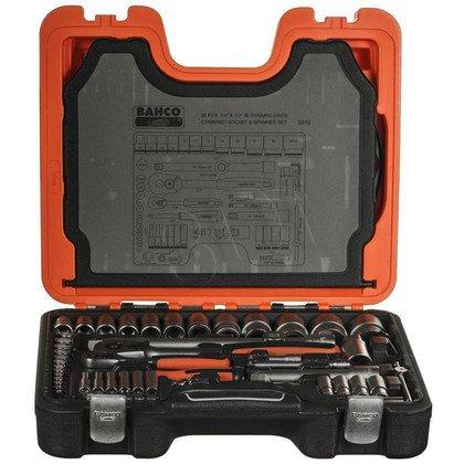 """Zestaw narzędzi 1/2 i 1/4"""" BAHCO S910"""