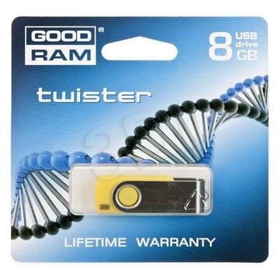 GOODDRIVE FLASHDRIVE 8192MB USB 2.0 Twister Yellow
