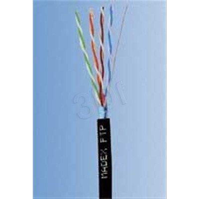 Madex kabel FTP kat.5e PE 500m czarny
