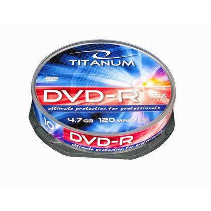 TITANUM DVD-R 4,7 GB x16 - Cake Box 10