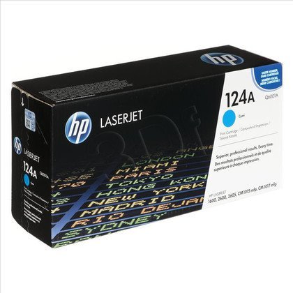 HP Toner Niebieski HP124A=Q6001A, 2000 str.