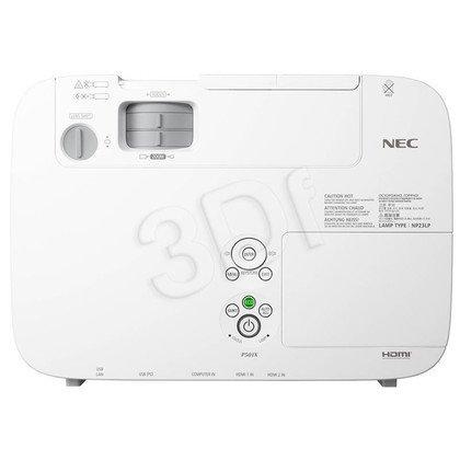 PROJECTOR NEC P451W LCD WXGA 4500 ANSI 4000:1 HDMI USB