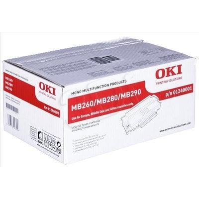 OKI Toner Czarny MB260/280/290-T=1240001=MB260, MB280, MB290, 5500 str.