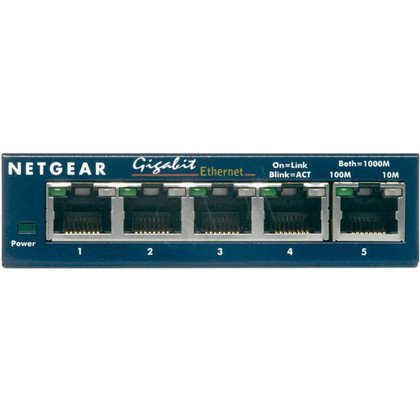 NETGEAR [ GS105 ] Switch ProSafe Desktop 5 portów Gigabit [ Gwarancja LifeTime ]