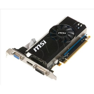 MSI AMD Radeon R7 240 2048MB DDR3/128bit DVI/HDMI PCI-E (730/1800) (Low Profile) (wer.1)