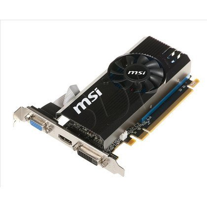 MSI AMD Radeon R7 240 2048MB DDR3/128bit DVI/HDMI PCI-E (730/1800) (Low Profile) (wer.1)