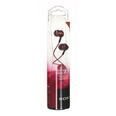 Słuchawki douszne Sony MDR-EX110LPR (Czerwony)