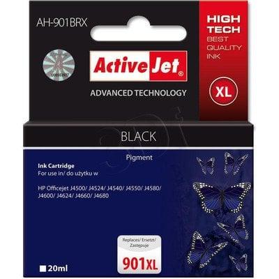 ActiveJet AH-901BRX (AH-C54) tusz czarny do drukarki HP (zamiennik HP 901XL CC654AE)