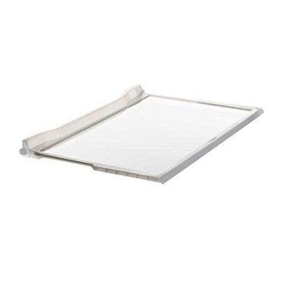 Półki na plastikowe i druciane r Półka szklana środkowa chłodziarki obtryskowa Whirlpool (481245088113)