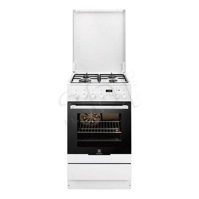 Kuchnia Electrolux EKK 54553OW (Płyta Gazowa Piekarnik Elektryczny szer.500mm Biały)