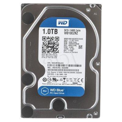 """Dysk HDD Western Digital BLUE 3,5"""" 1TB SATA III 64MB 5400obr/min WD10EZRZ"""