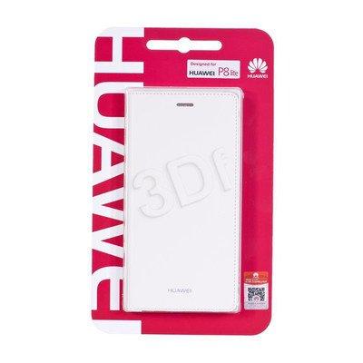 Huawei Etui do telefonu Flip Cover P8 Lite białe