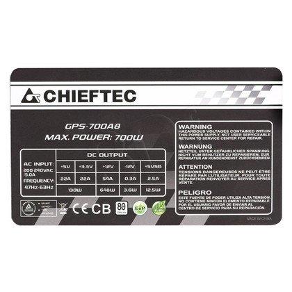ZASILACZ CHIEFTEC GPS-700A8 (80+) 700W