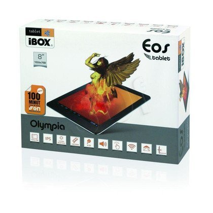 "TABLET I-BOX EOS 8"" DUAL CORE IPS 1GB DDR3 ALU"