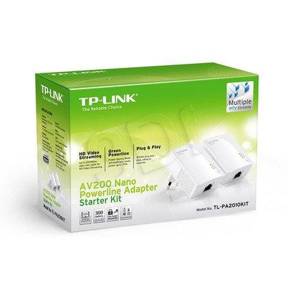 TP-LINK TL-PA2010KIT Powerline 200Mb/s 2szt. 1x100Mb/s