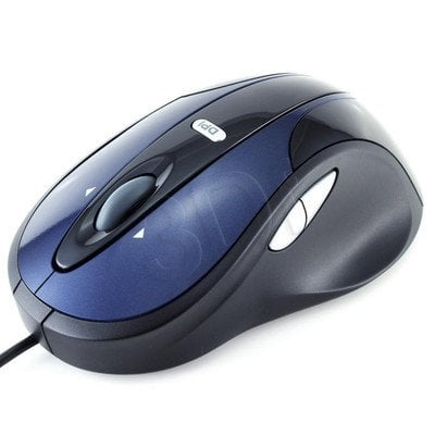 PRZEWODOWA MYSZ MODECOM MC-910 BLUE-BLACK
