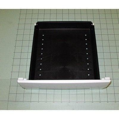 Zespół szuflady 51W z nakładką 51W pojemnik z tworzywa czarny (9030673)
