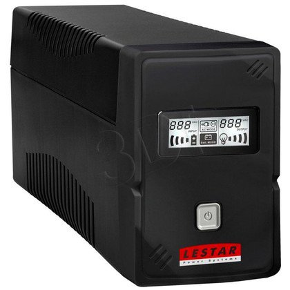 LESTAR UPS V-655 650VA AVR LCD GF 4XIEC USB RJ 11