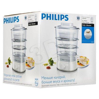 Parowar Philips HD9125/00 (900W Biało-beżowy 9l)