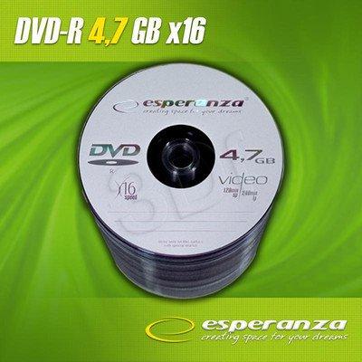 DVD-R Esperanza 4.7GB 16xSpeed (Szpindel 100szt)