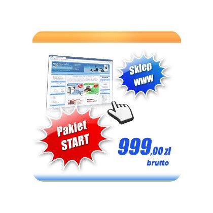 Sklep Internetowy - pakiet START