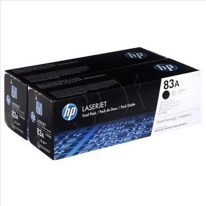 HP Toner Czarny HP83Ax2=CF283AD, Zestaw 2xBk, 2xCF283A
