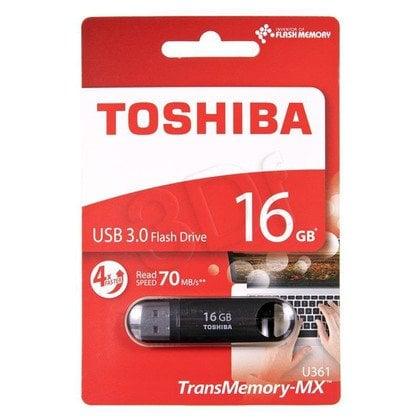 TOSHIBA Flashdrive U361 16GB USB 3.0 czarny
