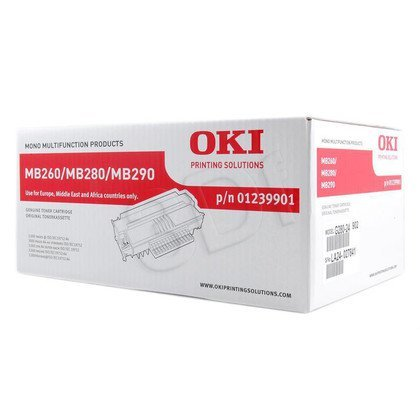 OKI Toner Czarny MB260/280/290-T=1239901=MB260, MB280, MB290, 3000 str.