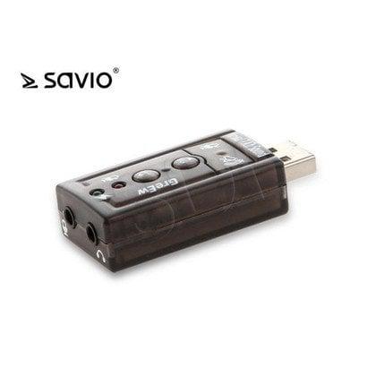 SAVIO KARTA DŹWIĘKOWA USB 7.1 AK-01
