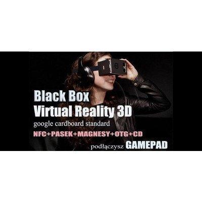 3DEXPERT OKULARY WIRTUALNEJ RZECZYWISTOŚCI CARDBOARD OK-05 BLACK BOX