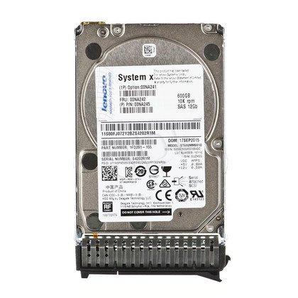 """Dysk HDD LENOVO 2,5"""" 600GB SAS-3 10000obr/min Kieszeń hot-swap 00NA241"""