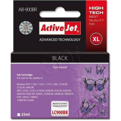 ActiveJet AB-900BR (ABR-900BK) tusz czarny do drukarki Brother, ref. (zamiennik Brother LC900BK)