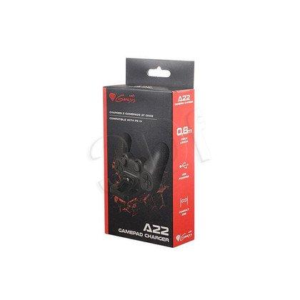 NATEC GENESIS STACJA DOKUJĄCA A22 USB CHARGER PS4 (ŁADOWARKA NA 2 PADY)