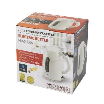 Czajnik elektryczny Esperanza Niagara EKK002W (1,7l 2200W biały)