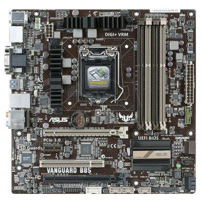 ASUS VANGUARD B85 B85 LGA1150 (PCX/DZW/VGA/GLAN/SATA3/USB3/DDR3/CROSSFIRE) mATX