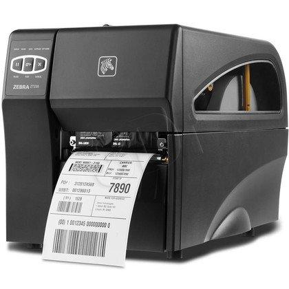 Zebra ZT220 (USB, LAN) półprzemysłowa drukarka etykiet, termotransferowa ZT22042-T0E200F