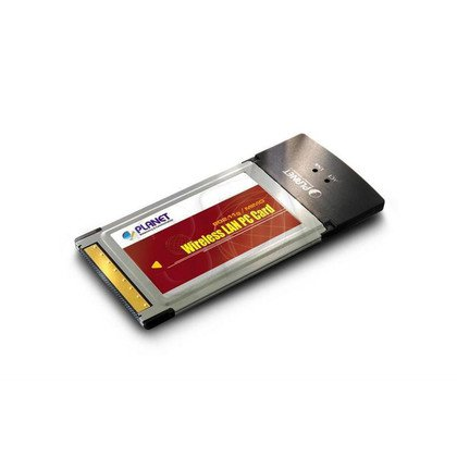 PLANET / Karta PCMCIA 18dBm / (WML-3565) 54Mbps - Technologia MIMO, Ralink
