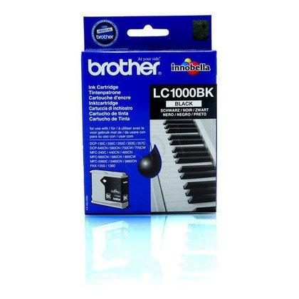BROTHER Tusz Czarny LC1000BK=LC-1000Bk, 500 str.
