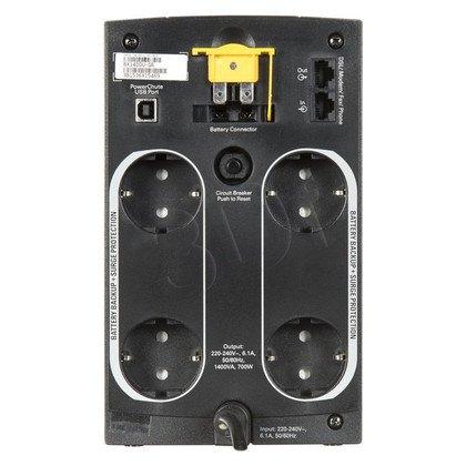 APC BX1400U-GR Back-UPS 1400VA, 230V, Schuko