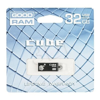 Goodram Flashdrive CUBE 32GB USB 2.0 Czarny