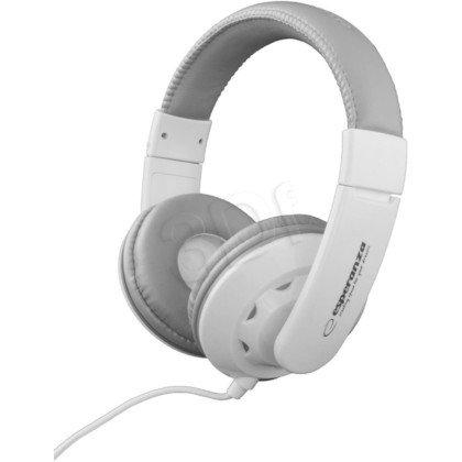 Słuchawki nauszne Esperanza CORAL EH144W (Biały)