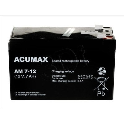 AKUMULATOR ACUMAX 12V 7Ah [AM 7-12]
